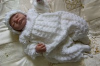 KAM 151..CHRISTENING SUIT FOR A BABY BOY 0-6 MTHS OR REBORN DOLL