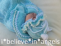 KNITTING PATTERN KSB 55 'CATERPILLAR AND SEA NYMPH' COCOON, HAT AND BOOTIES TO MAKE FOR A NEWBORN BABY OR REBORN DOLL