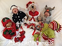 KNITTING PATTERN  KSB 59**CHRISTMAS BABIES  *3* IN SIZES 0/3, 3/6 AND 6/12
