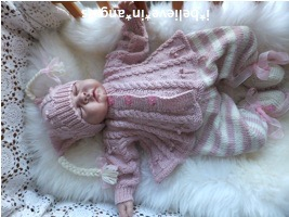 KNITTING PATTERN  KSB 71 *DAWN'S ANGEL* MATINEE COATS, LEGGINGS AND HATS