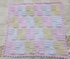 CROCHET PATTERN KSB 73***BOBBILLICIOUS**CROCHET BOBBLE BLANKETS WITH TUTORIAL