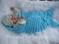 KNITTING PATTERN  KSB 75..OCEANIA.. MERMAID COCOON, LACY MATINEE COAT, HAT AND BOOTIES SET 0/3 MONTHS SIZE