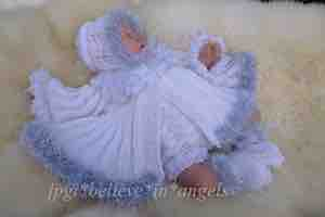 KNITTING PATTERN KSB..95 TO MAKE GLORIANA...A CHRISTMAS ANGEL
