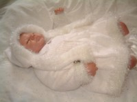 KNITTING PATTERN KSB 12*** SANTA AND SNOWBABY** WINTER SET FOR YOUR BABY OR REBORN DOLL